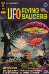 UFO Flying Saucers (Gold Key - 1968) -3- Are They Alive?