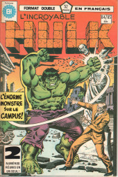 L'incroyable Hulk (Éditions Héritage) -8485- Le gros monstre sur le Campus !