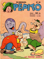 Pepito (1re Série - SAGE) -59- La pieuvre géante