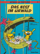 Spirou und Fantasio  -10- Das nest im urwald