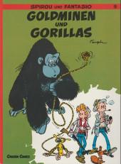 Spirou und Fantasio  -9- Goldminen und gorillas