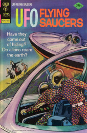 UFO Flying Saucers (Gold Key - 1968) -7- Have They Come Out of Hiding? Do Aliens Roam the Earth?