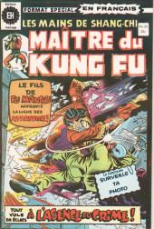 Les mains de Shang-Chi, maître du Kung-Fu (Éditions Héritage) -26- L'agence de meurtres