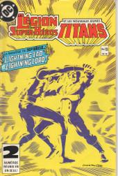 La légion des super-héros et les nouveaux jeunes Titans (Editions Héritage) -19- Citadelle attaquez !