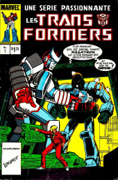 Les transformers (Éditions Héritage) -7- Ecole de guerriers