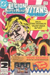La légion des super-héros et les nouveaux jeunes Titans (Editions Héritage) -15- Pas l'ombre d'une chance