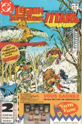 La légion des super-héros et les nouveaux jeunes Titans (Editions Héritage) -14- Au bord du néant