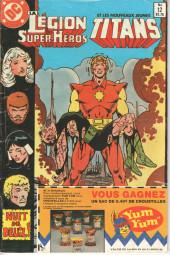 La légion des super-héros et les nouveaux jeunes Titans (Editions Héritage) -12- Que faites-vous le jour suivant le dernier jour