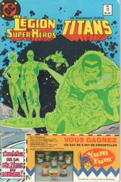 La légion des super-héros et les nouveaux jeunes Titans (Editions Héritage) -11- L'origine du dossier Univers...