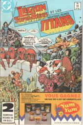 La légion des super-héros et les nouveaux jeunes Titans (Editions Héritage) -10- ... la confrérie du mal revit !