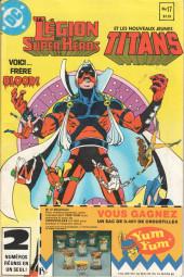 La légion des super-héros et les nouveaux jeunes Titans (Editions Héritage) -17- Les cendres aux cendres !