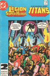 La légion des super-héros et les nouveaux jeunes Titans (Editions Héritage) -16- Attention à la revanche de Frère Sang !