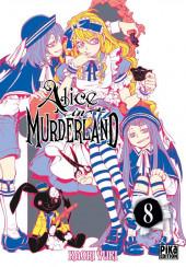 Alice in murderland -8- Tome 8