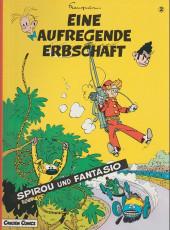 Spirou und Fantasio  -2- Eine aufregende erbschaft