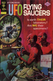 UFO Flying Saucers (Gold Key - 1968) -9- Is Earth Their Laboratory?