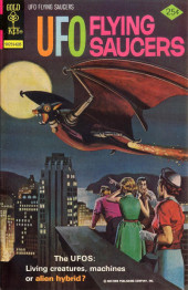 UFO Flying Saucers (Gold Key - 1968) -10- The UFOS: Living Creatures, Machines or Alien Hybrid?