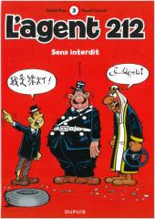 L'agent 212 -3c2010- Sens interdit
