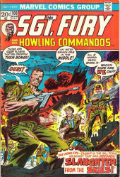 Sgt. Fury and his Howling Commandos (Marvel - 1963) -108- Slaughter from the skies !