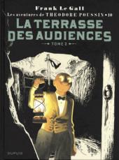Théodore Poussin -10a18- La Terrasse des Audiences - Tome 2