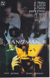 The sandman (DC comics - 1989) -37- I Woke Up and One of Us Was Crying. [A Game of You Part 6]