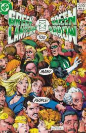 Green Lantern/ Green Arrow (1983) -3- Even an immortel can die!/ Death be my destiny