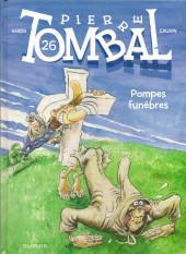 Pierre Tombal -26a2011- Pompes funèbres