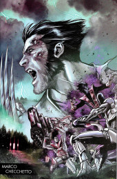 Hunt for Wolverine -1c- Secrets and Lives - Young Guns Variant Textless