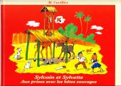 Sylvain et Sylvette (Triomphe) -10- Aux prises avec les bêtes sauvages