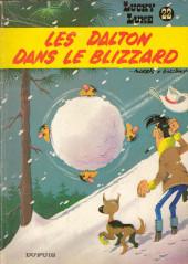 Lucky Luke -22a85- Les Dalton dans le blizzard