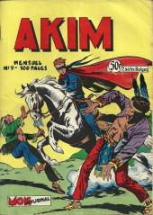 Akim (1re série) -9- S'emparer de l'avion de l'inspecteur