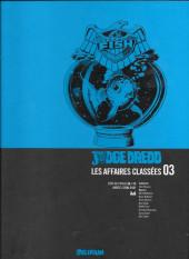 Judge Dredd : Les Affaires classées -3- Années 2100-2101 (2000 AD progs 86-115)