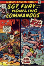 Sgt. Fury and his Howling Commandos (Marvel - 1963) -116- Is this the End of the Road for Nick Fury ??