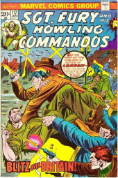 Sgt. Fury and his Howling Commandos (Marvel - 1963) -117- Blizt over Britain !