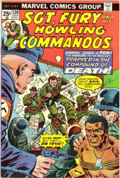 Sgt. Fury and his Howling Commandos (Marvel - 1963) -120- Trapped in the Compound of Death !