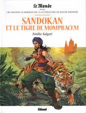 Les grands Classiques de la littérature en bande dessinée -35- Sandokan et le Tigre de Monpracem