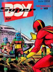 Super Boy (2e série) -118- Les inconnus du désert rouge