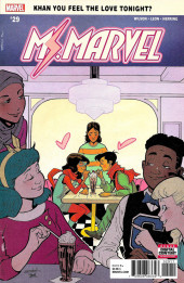 Ms. Marvel (2016) -29- Something New Pat 1