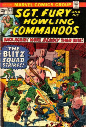 Sgt. Fury and his Howling Commandos (Marvel - 1963) -122- The Blitz Squad Strikes!
