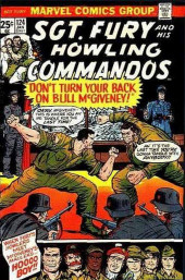 Sgt. Fury and his Howling Commandos (Marvel - 1963) -124- Don't Turn Your Back On Bull McGiveney!