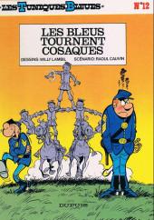 Les tuniques Bleues -12b1991- Les bleus tournent cosaques