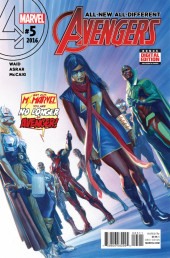 All-New, All-Different Avengers (2016) -5- Issue #5