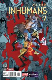 All-New Inhumans (2016) -1- Global Outreach Part 1