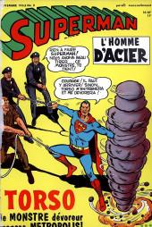 Superman l'homme d'acier puis Superman et Batman (1re Série Interpresse) -2- Torso le monstre dévoreur !