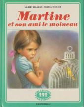 Martine -30- Martine et son ami le moineau