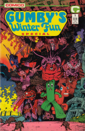 Gumby (1987) -OS- Gumby winter special