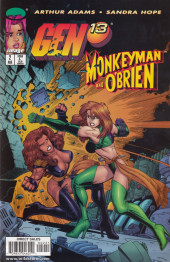 Gen13/Monkeyman and O'Brien (1998) -2- Gen13/ Monkeyman & O'Brien #2 of 2