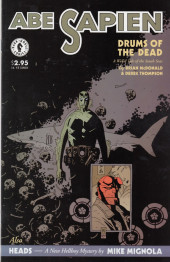 Abe Sapien (2008) -OS- Drums of the dead