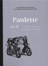 Les grands Classiques de la Bande Dessinée érotique - La Collection -5559- Paulette - Tome 3