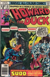 Howard the Duck (1976) -20- Scrubba-dub death!