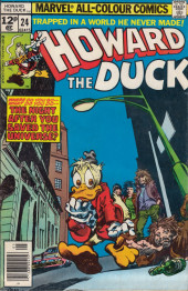 Howard the Duck (1976) -24UK- Where Do You Go--What Do You Do--The Night After You Save The Universe?